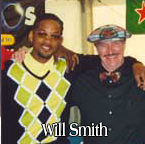 Will Smith wearing a pair of Black T. Barry Golf Knickers.
