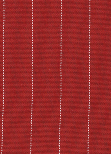 Impereal Red Pinstripe Fabric Swatch