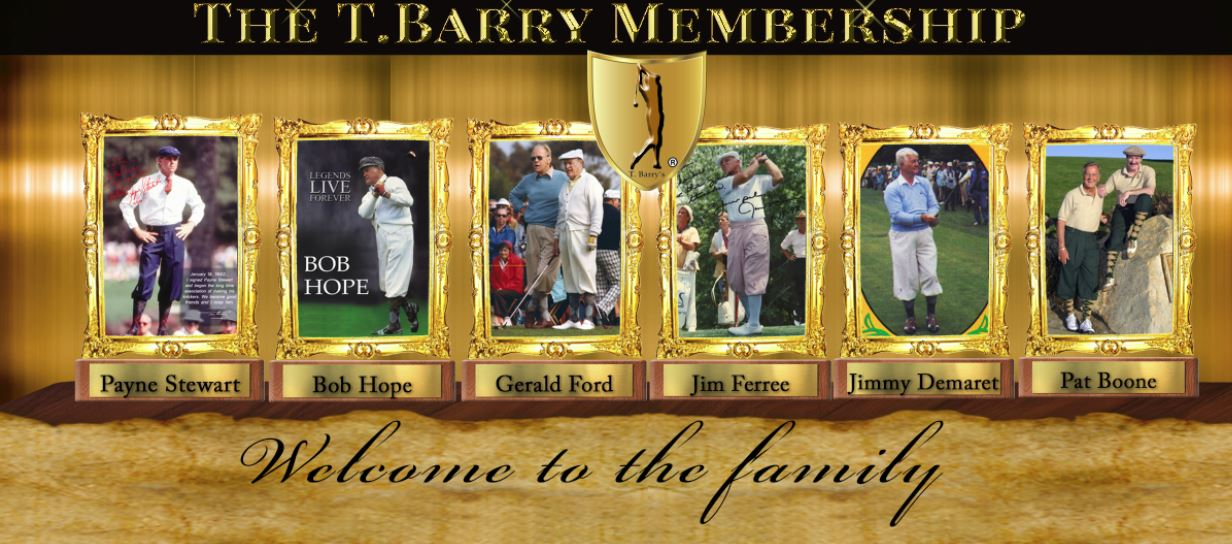 Tbarry Golf Membership
