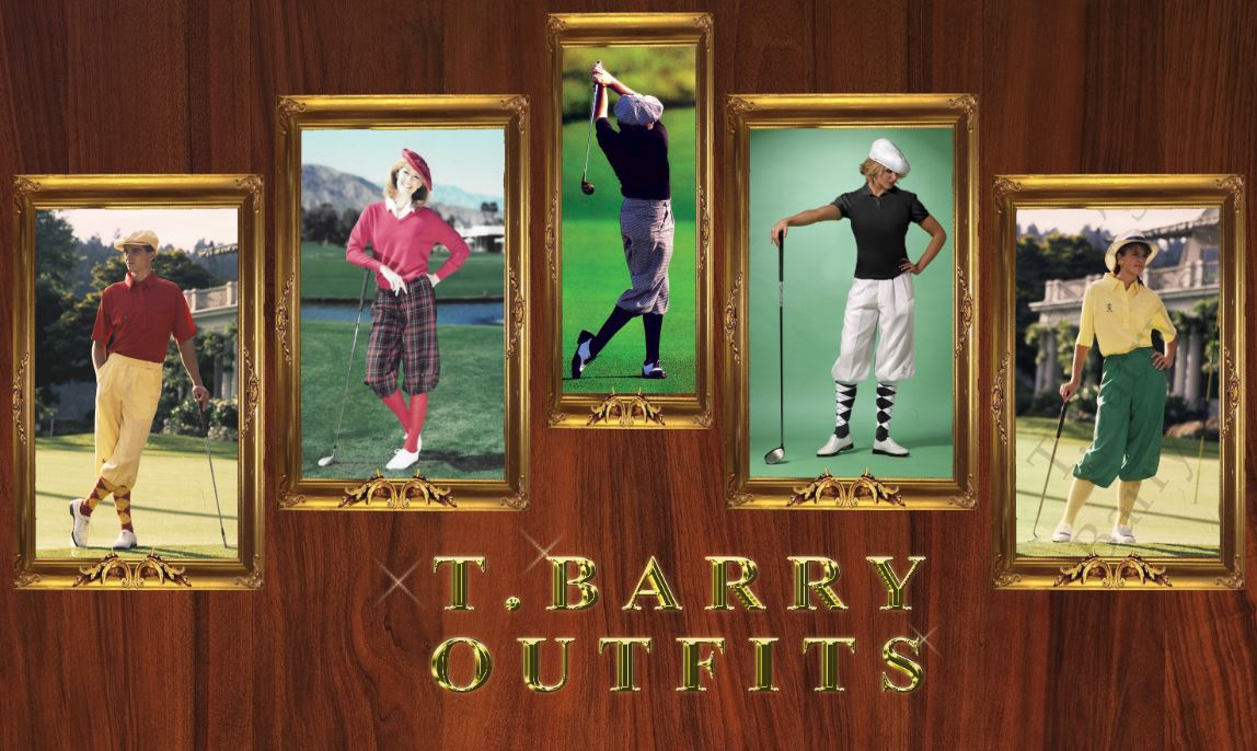 The Tbarry Knicker Co Classic Traditional Golf Outfits