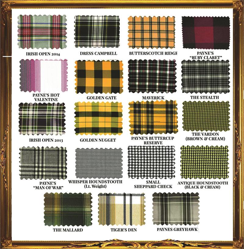 Tbarry Golf Knicker Fabrics