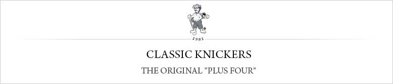 Classic Golf Knickers by the T. Barry Knicker Co. The original American golf knicker maker.
