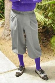 Executive Navy Knicker, knickerbocker and argyle sock set.