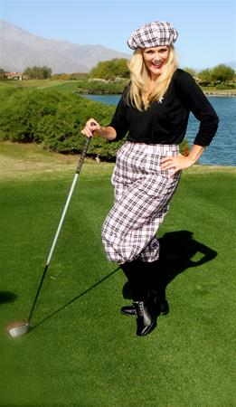 Ladies Classic Golf Knickers