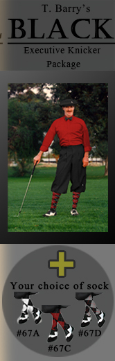 Black Executive Golf Knicker