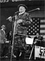 Bob Hope in Knickers, entertaining the troops overseas