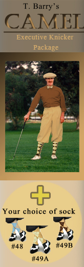 Camel Executive Golf Knicker