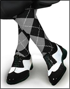 Argyle Socks and Solid Socks