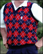 Argyle Vests and Solid Vests