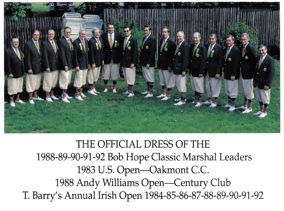 Bob Hope Classic Marshall Leaders The Tbarry Knicker Co