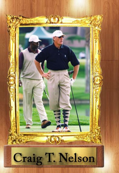 Craig T Nelson Tbarry Classic Golf Knickers