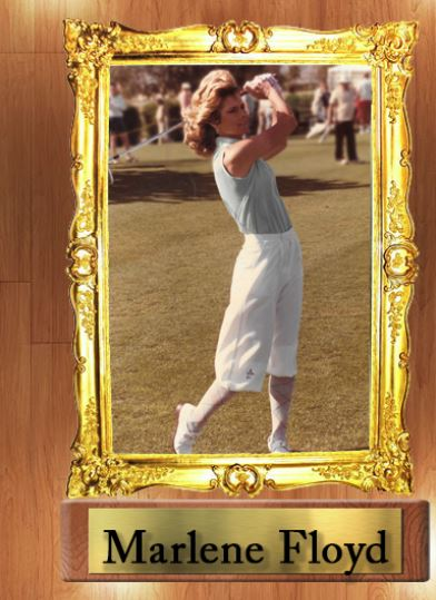 Marlene Floyd in Classic Tbarry Golf Knickers