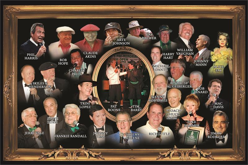 Irish Open Golf Knickers celebrities