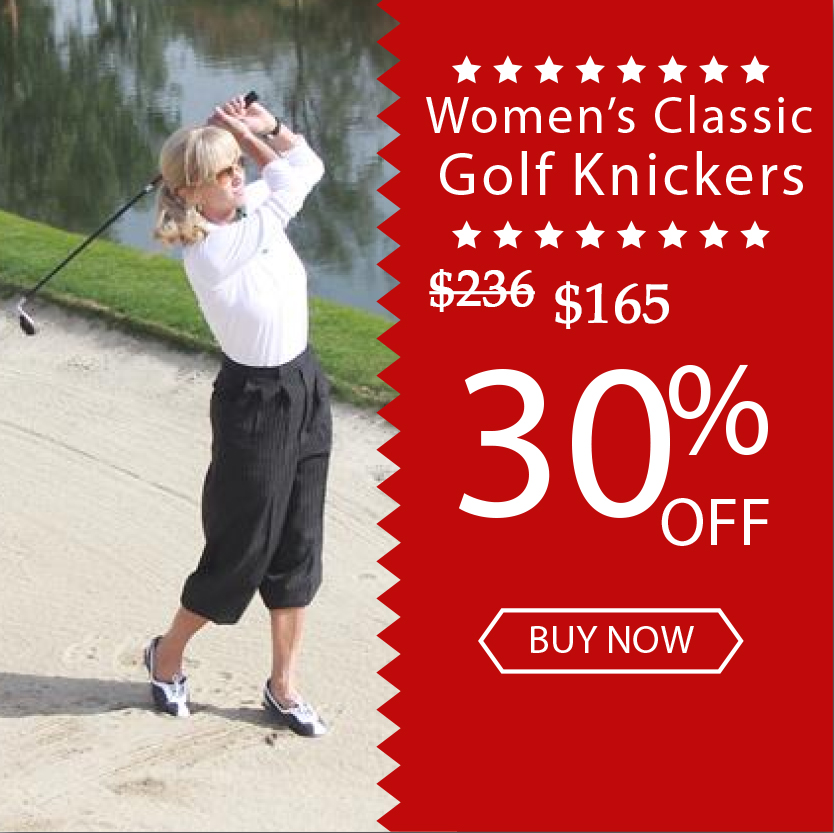 Womens Golf Knickers