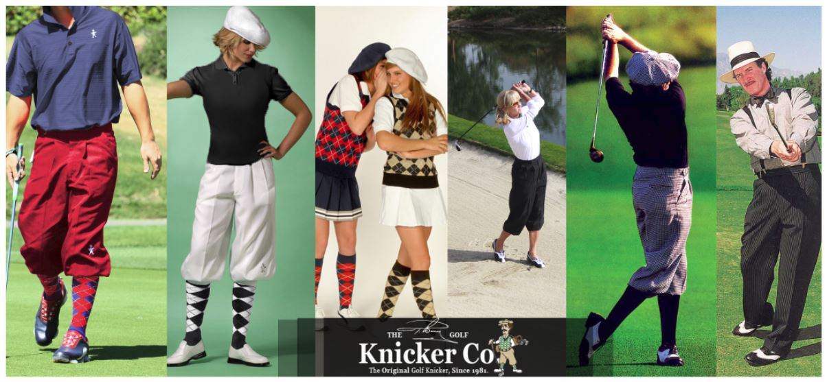 The Tbarry Knicker Co golf apparel