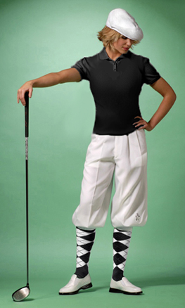 Ladies Golf Knickers - plus fours for women