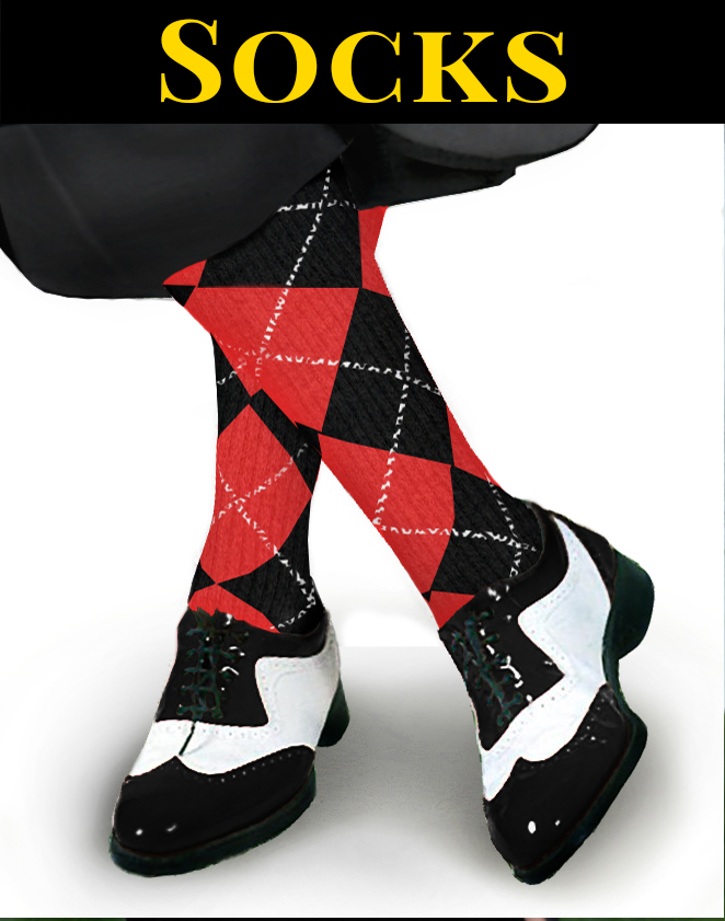 Golf and Sport Socks Argyle socks