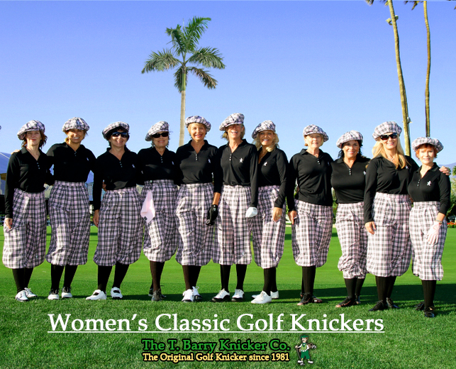 Womens Golf Knickers Outfits